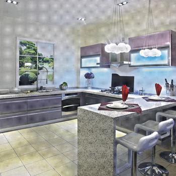 Chine Meubles De Cocina Aluminio Puertas De Armarios De Vidrio Cocina De  Diseño Moderno - Buy Puertas De Armario De Vidrio De Aluminio  Cocina,Muebles ...