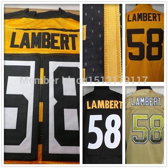 3e47df6ee7d Hot sale Jerseys #58 Jack Lambert Jersey Pittsburgh 100% stitched cheap  authentic sports jerseys