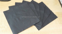 25x25cm recycled pulp black Dying napkins