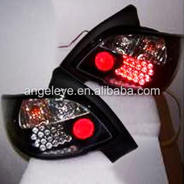 1998-up Year For Peugeot 206 LED Rearlight Tail Lamp Sonar Type Black Housing