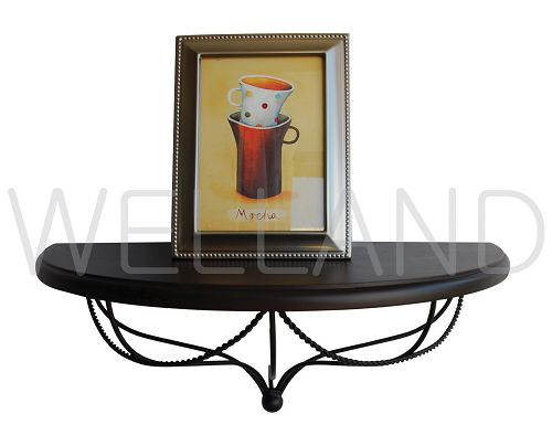 Superb Half Moon Metal Shelf,Wall Shelving,Wooden Wall Shelves   Buy Wall  Shelf,Antique Shelf,Metal Shelf Product On Alibaba.com
