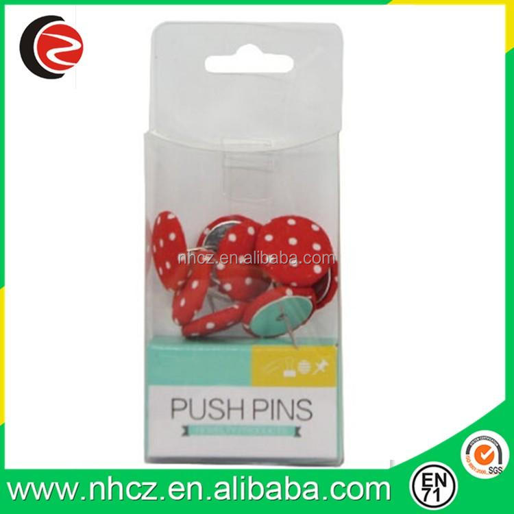 fabric 22MM round safety push pin