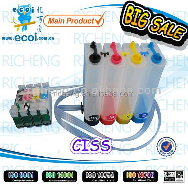 Big Sale! T040 T041 CISS for C62, refillable ink cartridge for C62, with high quality