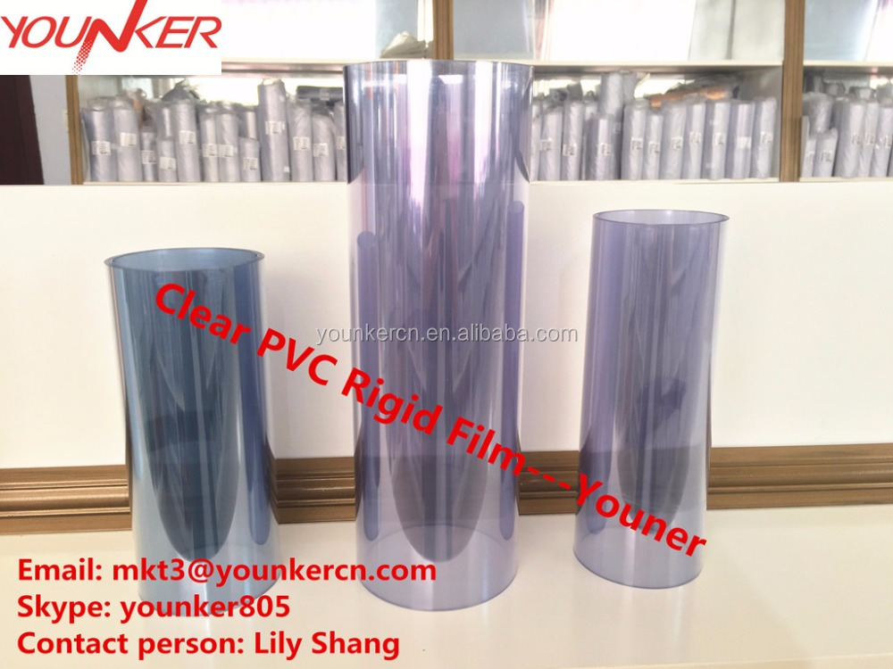 Cheap price clear pvc/pvdc coated blister rigid film