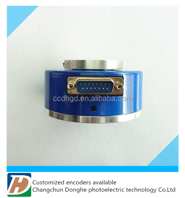 incremental hollow rotary encoder yumo for elevator ABZ phase,push pull output