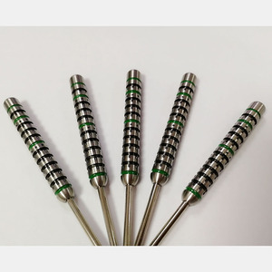 Pixel dot grooves tungsten dart barrels, steel tip tungsten darts, soft tip darts