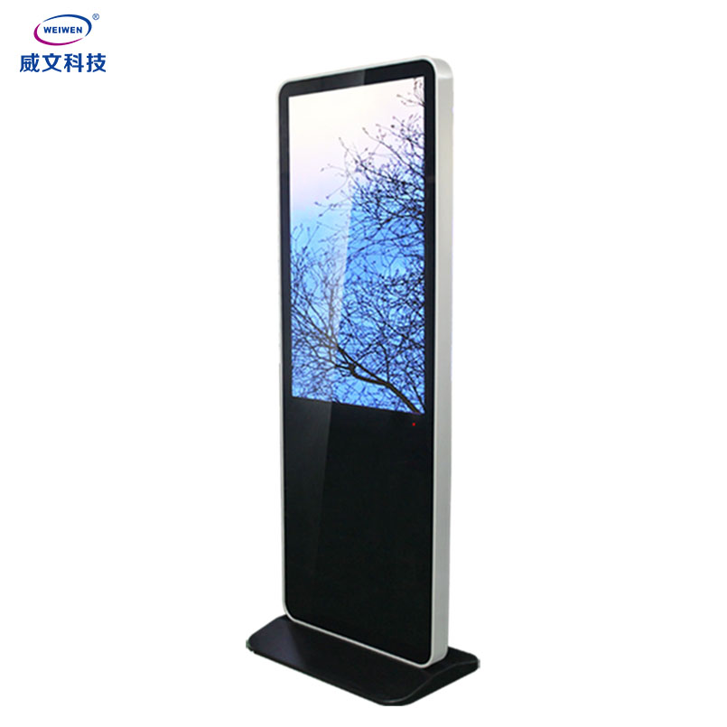 43inch led screen android wireless monitor network media player digital signage <strong>advertising</strong>
