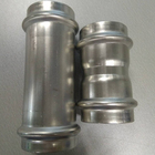 Press Plumbing Stainless Steel Fitting Coupling