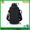 water bottle travel carrier protector sleeve with pouch handsfree