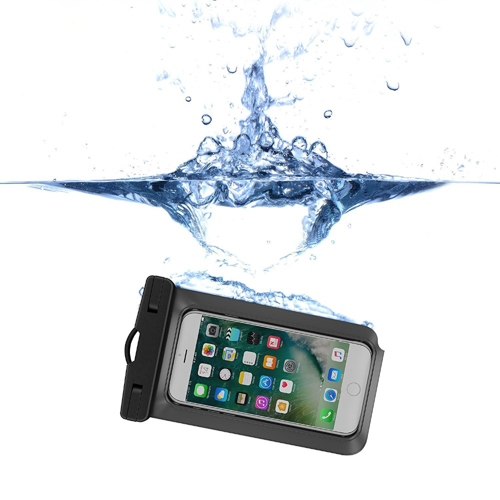 China Supplier IPX8 Mobile Phone Waterproof Bag for Apple Iphones