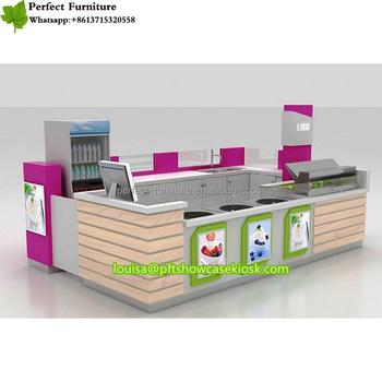 High Grade Ice Cream Frozen Yogurt Shop With Modern ...