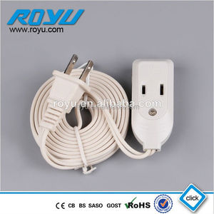 LIDE 3A 250V india extension cord