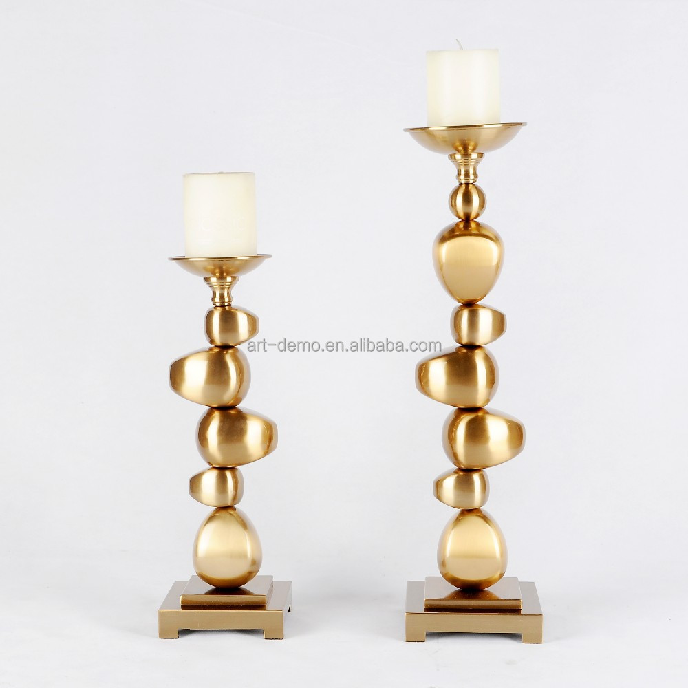 2016 stainless high quality candle holder of home decoration
