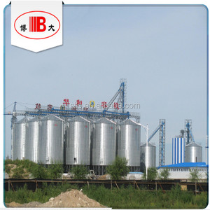 10t / 20t / 30t / 50t bulk / movable animal feed storage steel silos