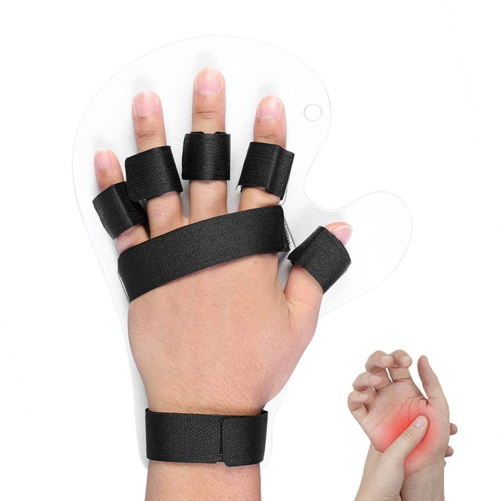 ZJchao Finger Orthotics, Extended Type Fingerboard Stroke Hand Splint Training Support