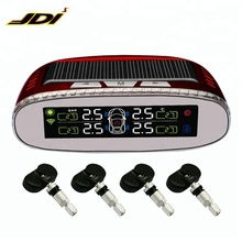New Wireless Vehicle Solar Internal Sensor Truck Tire Pressure Indicator TPMS Monitoring System