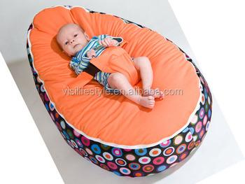 Baby Bean Bag Bed Made Of Printing Pvc Target Bean Bag