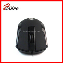 Promotional gift 4 teclas te negro wired optica izquierda mouse con caucho aceite touch c-632