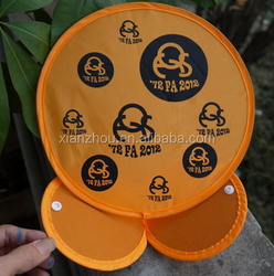 large indoor foldable nylon frisbee