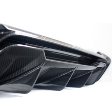 Custom Carbon Fiber Auto Parts Rear Bumper Lower Blade Diffuser Spoiler
