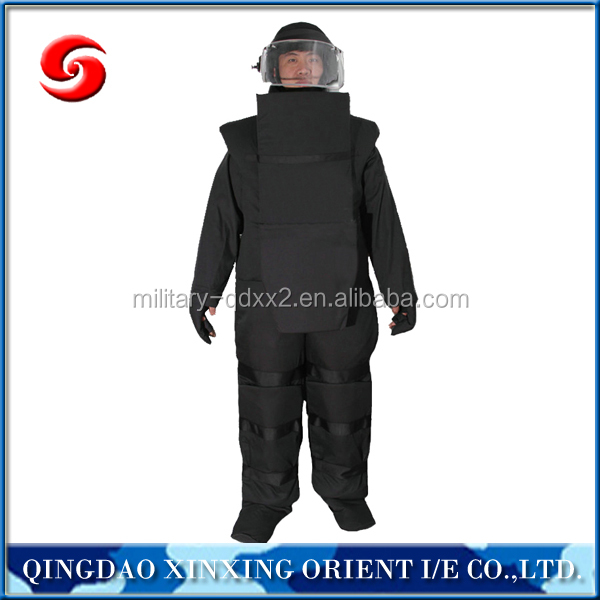 Landmine searching suit search mine safety suit
