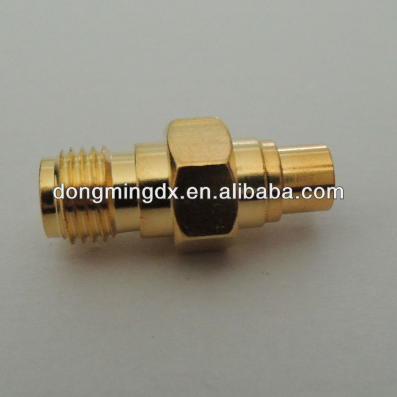 SMA female to MCX female RF coaxial adapter connecter