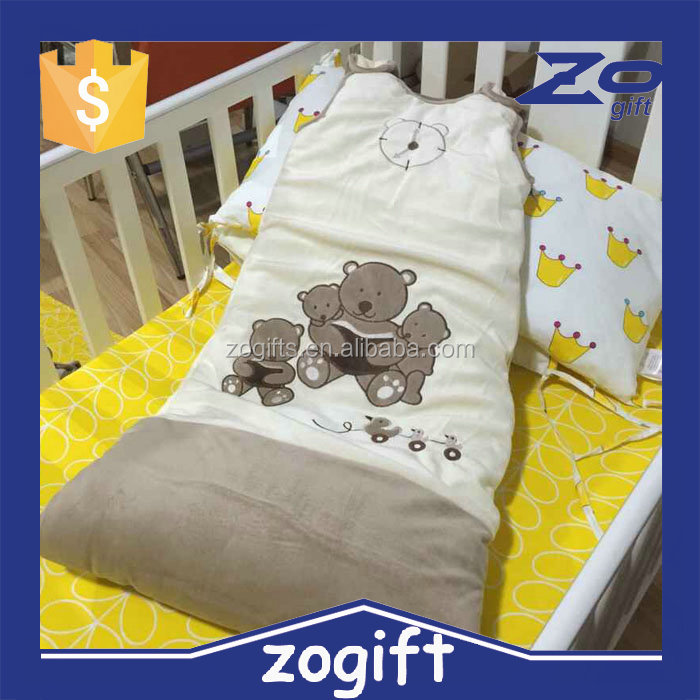 ZOGIFT 2016 cute design baby sleeping bag for newborn babies