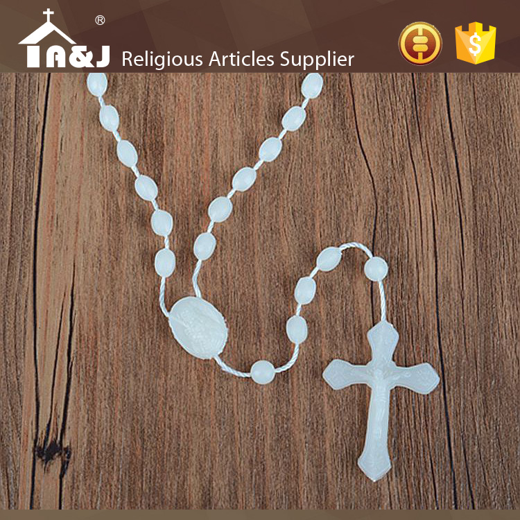 One-stop solution service decorations wholesale plastic rosaries