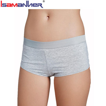 Girls stylish underwear sexy mature ladies boxer panties