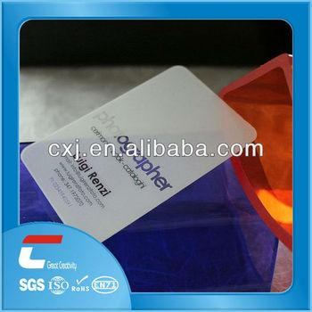 Elegant silk screen letter press transparent business cards buy elegant silk screen letter press transparent business cards colourmoves