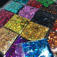 Wholesale Top Quality Chunky Colors Bulk Glitter For Craft Decoration Body Hair Decoration