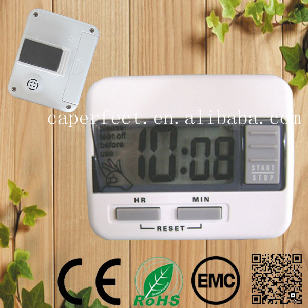 LCD Mini 20hours kitchen digital timer with magnet led gym timer