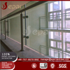 China manufacture balcony railing stainless steel and glass balustrade prices