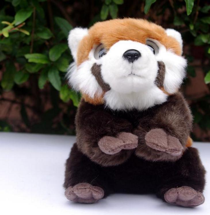 Cute Big Eyes Red Panda Stuffed Animal Plush Toy Buy Panda