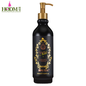 OEM/private label chemical free brazil keratin pre-treatment hair shampoo+argan oil natural botanicals complex shampoo