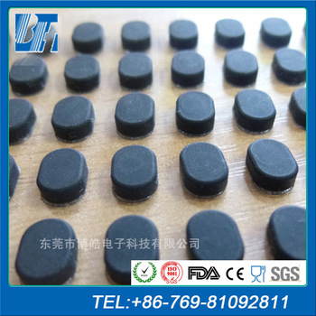Latest Anti Slip Rubber Furniture Pad Non Mat Adhesive Silicone Foot Pads 3m