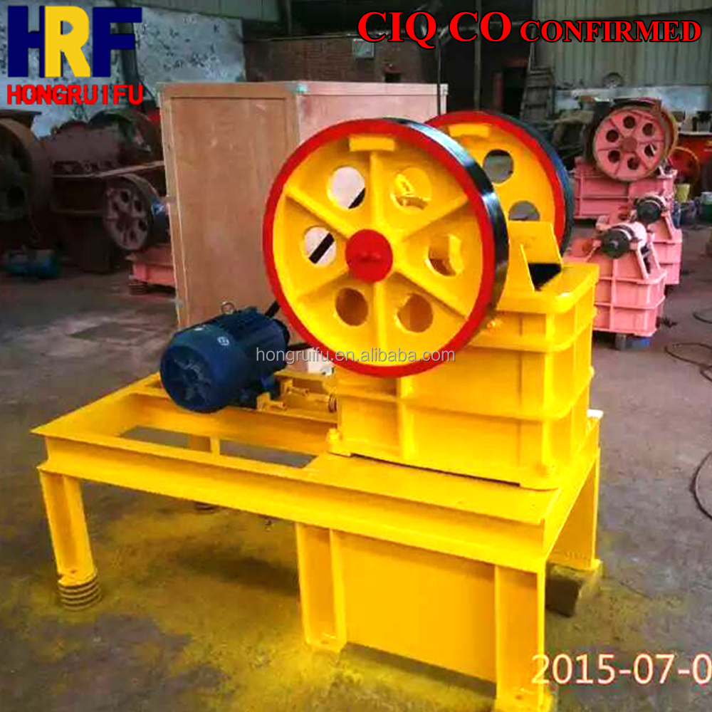 Lab Stone Jaw Crusher/Mobile Small Construction Waste Crusher/Small Portable Stone Breaking Machine with Lowest Price