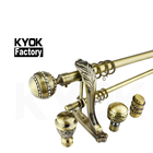 KYOK fashionable home decoration arabic style, curtain rod 16/19/22/25/28/30mm