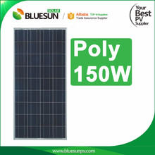 A grade Poly 170W solar panels high efficiency thin film with CE TUV Fire Code Safety