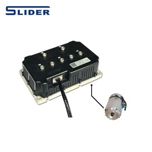 Electric Vehicle Brushless Alternating Current Induction Motor Controller