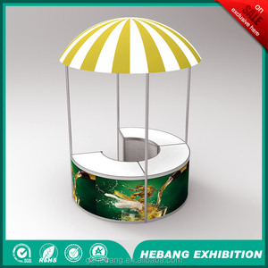 new product new design portable custom mini paint dome tent booth
