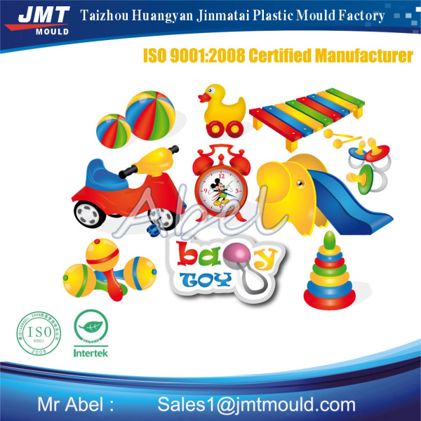 Baby used plastic toys mould