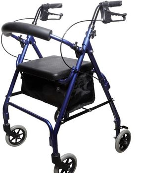 Aluminum Transport Chairs Wheelchair Rollator With Footrest  sc 1 st  Alibaba & Aluminum Transport Chairs Wheelchair Rollator With Footrest - Buy ...