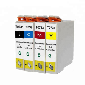 Hot sale T10 / T11 / T20 /T21 /TX100/ TX110 /TX200 /TX21 Compatible Ink Cartridge T0731N series Ink Cartridge