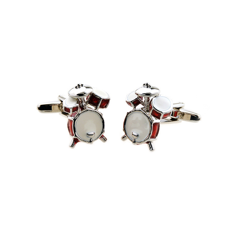 Wholesale Well-Made Drum Kit Cuff Links