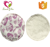 New Design Organic Washable Reusable Maternal Breastfeeding Pads