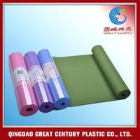 Wholesale TPE yoga mats material roll, custom organic yoga mats