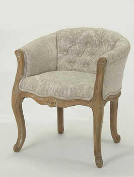 Home Furniture Hand Carved Wooden Armchair(CH 939 1 Oak)