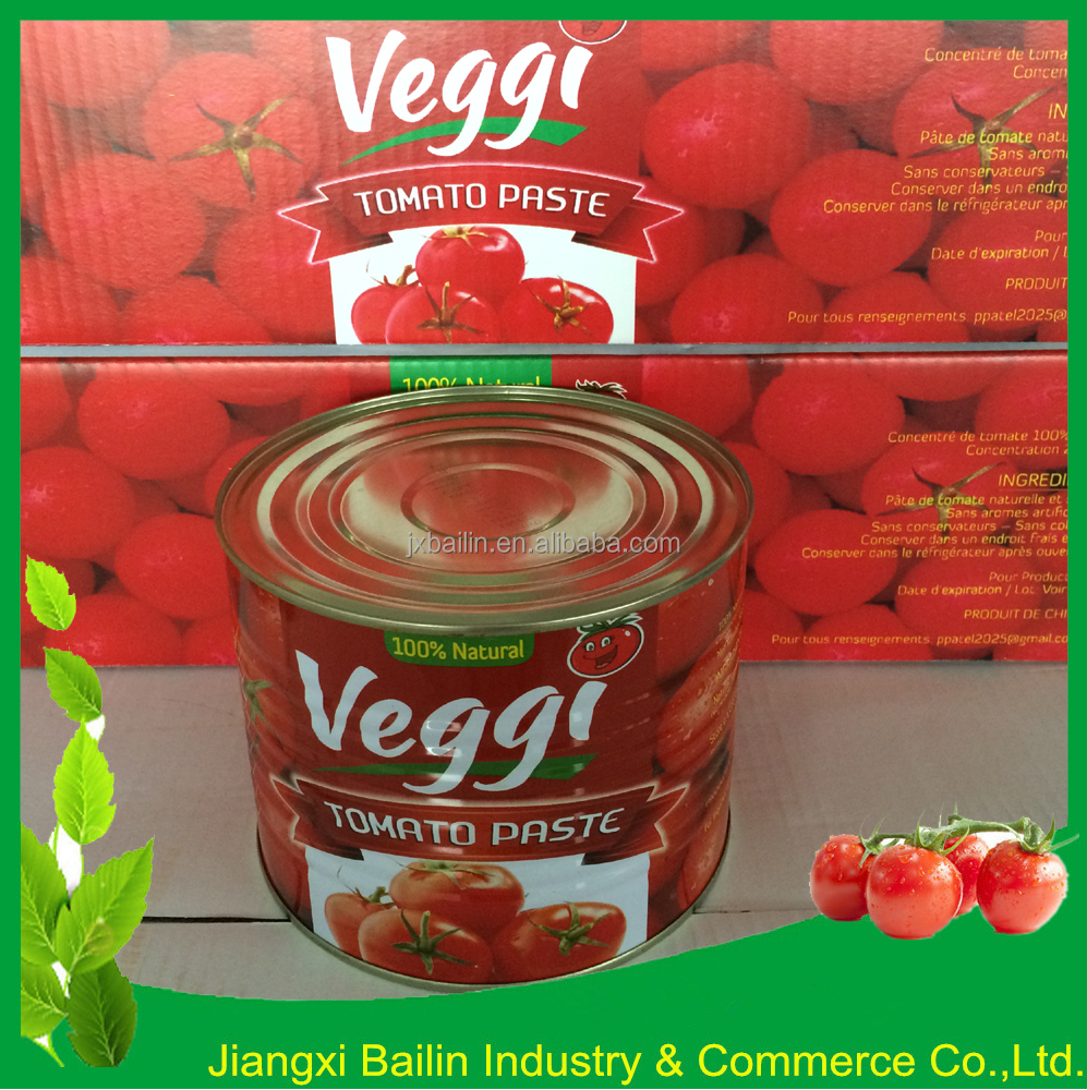 HACCP Cusomized Tomato Paste in tin packing