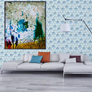 2017 Nama Wallpaper Geometric Gambar Untuk Ruang Tamu